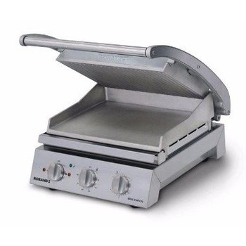 Grill station Roband | boven gegroefd |  6 sandwiches | (H)22x(B)43,5x(D)49