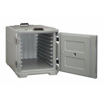 Geïsoleerde container | Front Load | Voedsel | 1/1GN | 8 geleiders | 68L