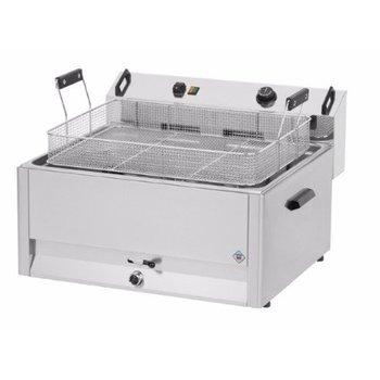 Elektrische oliebollen en vis friteuse - 16L