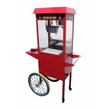 Popcorn machine Chef - met wielen