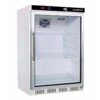 Koelkast glazen deur | 130L | (H)85,5x(B)60x(D)58,5