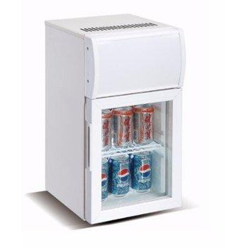 Mini koelkast | glazen deur | 20L | (H)57x(B)29,5x(D)37