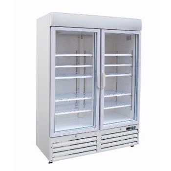 Vrieskast   glazen deur   920L   (H)199x(B)137x(D)72