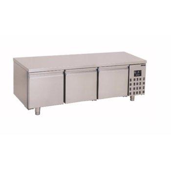 Lage koelwerkbank Pro Line   3 deurs   280L   (H)60x(B)160x(D)70