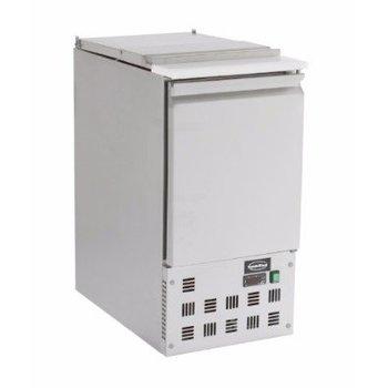 Saladette Compact Line | 1 deurs | boven 1/1GN | (H)87,5x(B)43,5x(D)70