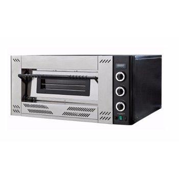 Pizza oven op gas | 4 pizza's | Ø30cm | aardgas | 16,1kW | (H)56x(B)100x(D)106,2