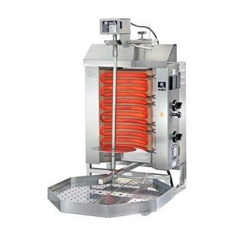 Döner gyros grill E1-S | elektrisch | 15kg vlees | 340mm hoog