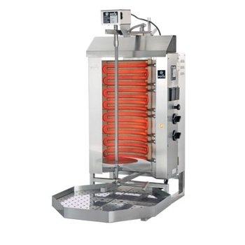Döner gyros grill E2-S | elektrisch | 30kg vlees | 460mm hoog