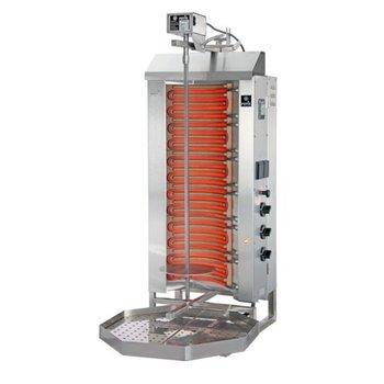 Döner gyros grill E3-S | elektrisch | 50kg vlees | 700mm hoog