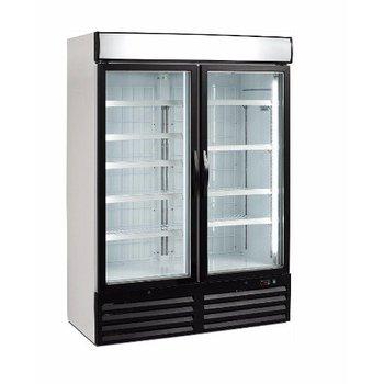 Vrieskast TKU 980 G-LED | dubbele glazen deur | 984L | (H)199x(B)137x(D)72