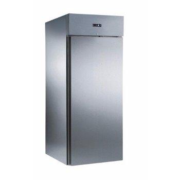 Inrijkoelkast EKU 751 RVS | dichte deur | 750L | (H)210x(B)75x(D)81