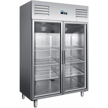 Horeca koelkast pro | glazen deur | 2/1GN | 1173L | (H)200x(B)134x(D)81