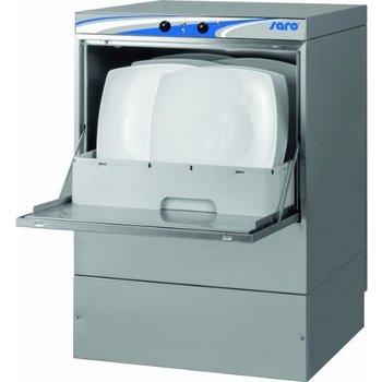 Vaatwasser mechanisch | 50x50cm | met afvoer en zeepdoseerpomp | (H)83x(B)57x(D)60