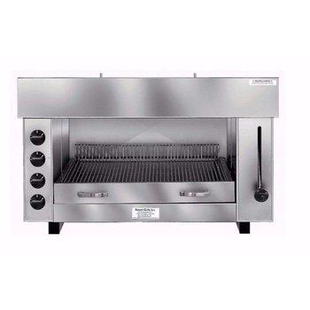 Pita en kapsalon grill oven | Gas | 4 branders | (H)60x(B)96x(D)43