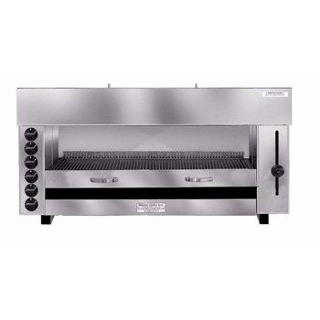 Pita en kapsalon grill oven | Gas | 6 branders | (H)60x(B)129x(D)43