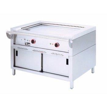 Teppanyaki grill - elektrisch - 2 zones