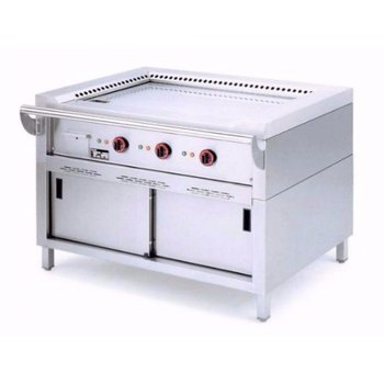 Teppanyaki grill - elektrisch - 3 zones