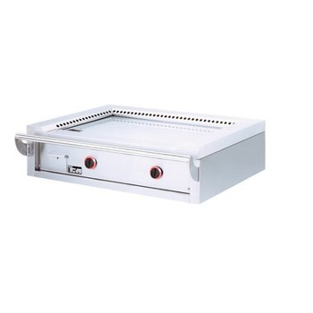 Teppanyaki grill - tafel - gas - 2 zones
