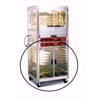 Warmhoudkast voor elektrische kippengrill