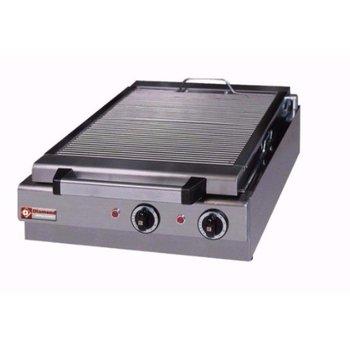 Stoomgrill elektrisch tafelmodel - 410x340mm