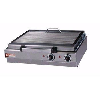 Stoomgrill elektrisch tafelmodel - 600x340mm