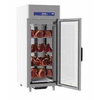 Vlees rijpingskast - 850L - 20 niveaus - met glazen deur