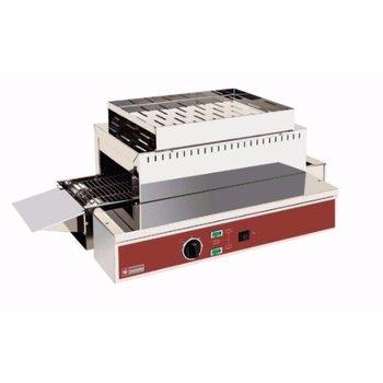 Broodrooster met loopband 500mm - 1080 toast p/u