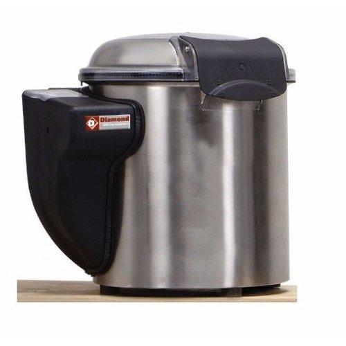 Diamond Aardappelschilmachine - 5kg inhoud - 150kg/u