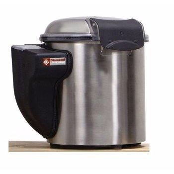 Elektrische mosselen wasapparaat - 5kg inhoud - 75kg/u