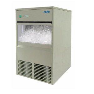 Saro IJsblokjesmachine EB40   holle ijsblokjes   40kg/24u   10kg bunker