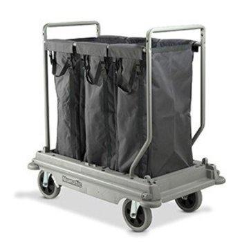Wasgoedwagen NuBag - 3x 100L