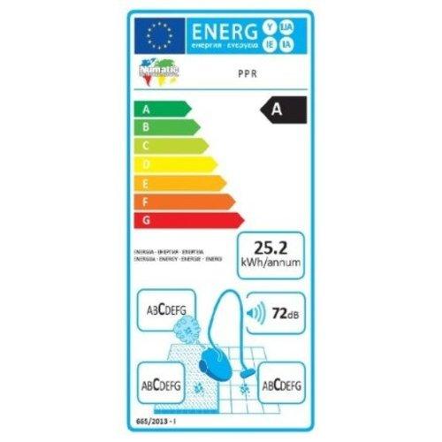 Numatic Horeca stofzuiger | 15L capaciteit | 620W | Rood