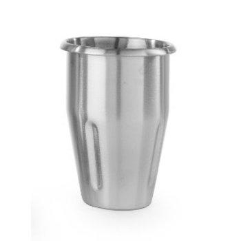 Losse beker RVS 1L - voor milkshaker RVS