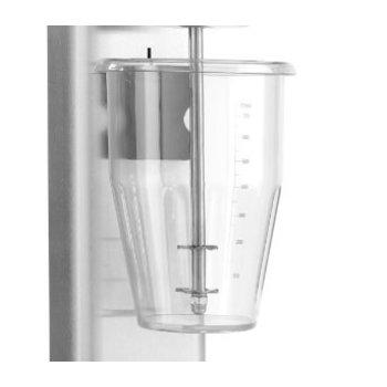 Losse beker polycarbonaat 1L - voor milkshaker RVS