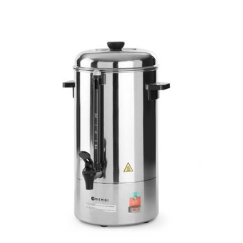 Koffie percolator - RVS filter - enkelwandig - 10L