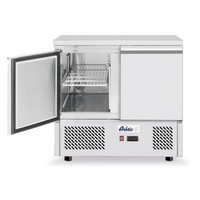 Hendi Koelwerkbank Kitchen Line | 2 deurs | (H)88x(B)90x(D)70