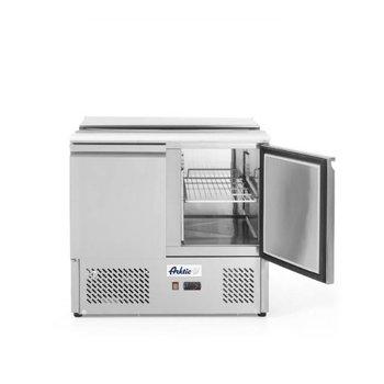 Saladette Kitchen Line | 2 deurs | boven 5/2GN | (H)88,8x(B)90x(D)70