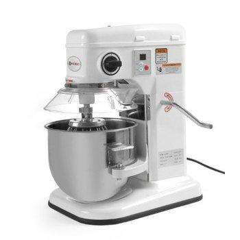 Keukenmixer 7 Liter - met garde - klopper - deeghaak