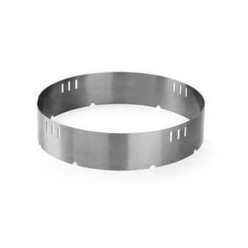 RVS ring Ø36cm - voor grote wok op hokker