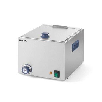 Worstenwarmer RVS | 10 liter | (H)25x(B)33x(D)28