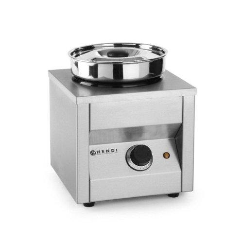 Hendi Bain marie met ronde pot - Ø185mm - 4,2 liter