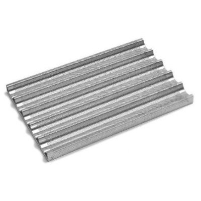 Aluminium tray - geperforeerd - stokbrood - 60x40cm