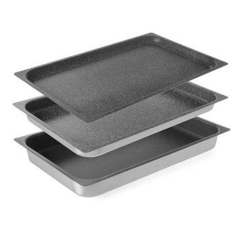 GN bak aluminium met antiaanbaklaag - 1/1GN - 65mm