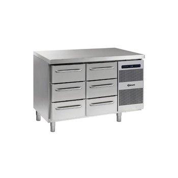 Koelwerkbank Gastro K 1407 CSG A 3D/3D L2 - 1/1 GN