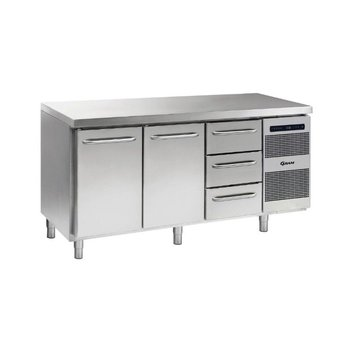 Koelwerkbank Gastro K 1807 CSG A DL/DL/3D L2 - 1/1 GN
