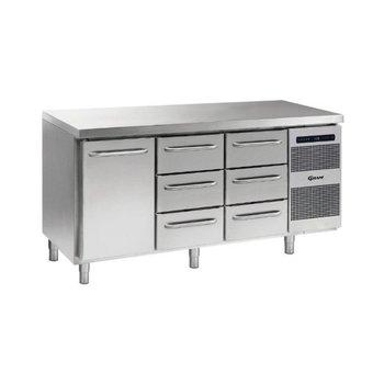 Koelwerkbank Gastro K 1807 CSG A DL/3D/3D L2 - 1/1 GN