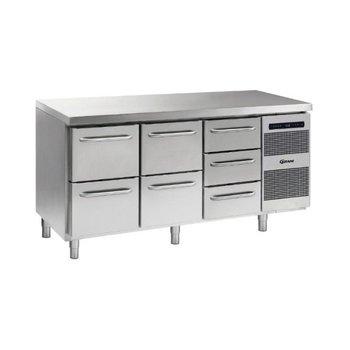 Koelwerkbank Gastro K 1807 CSG A 2D/2D/3D L2 - 1/1 GN