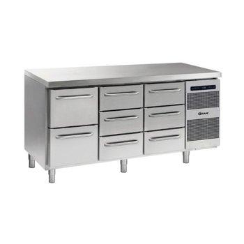 Koelwerkbank Gastro K 1807 CSG A 2D/3D/3D L2 - 1/1 GN
