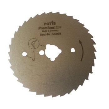 Losse döner mes - gekarteld - voor Potis S180 Plus