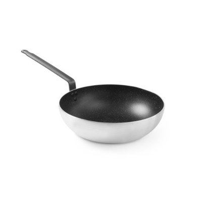 Aluminium wokpan - Marble anti-aanbak - Ø32cm